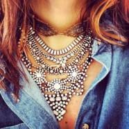 Макси-ожерелья для самых модных