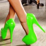 Зеленые туфли