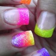 Дизайн ногтей с блестками: 150 вариантов для вдохновения