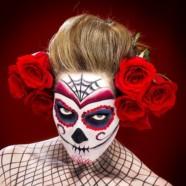 Макияж на Хэллоуин: 150 фото и 12 видео-уроков