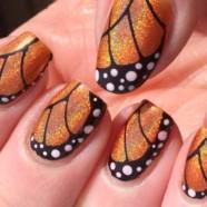 Бабочки на ногтях. Дизайн ногтей бабочки