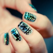 Зимний маникюр. Зимний дизайн ногтей
