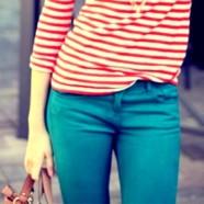 Раскась будни: цветные джинсы