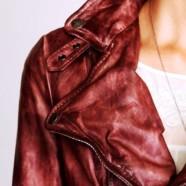 Как покрасить кожаную куртку