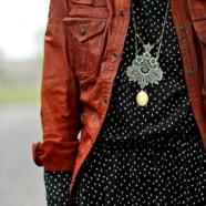 С чем носить кожаный жакет