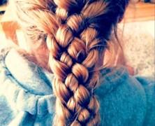 Коса на 5 прядей