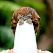 Самые-самые — свадебные прически с фатой