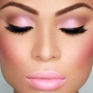 Розовый макияж: воплощенная нежность