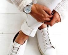 Белые кроссовки и уличная мода