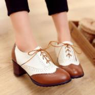 Броги — обувь для уверенных в себе женщин