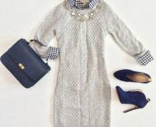 Как выбирать вязаные платья