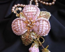 Цветы из паеток — рукоделие для терпеливых мастериц