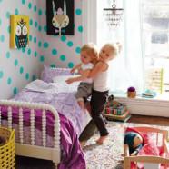 Дизайн детской для двух девочек