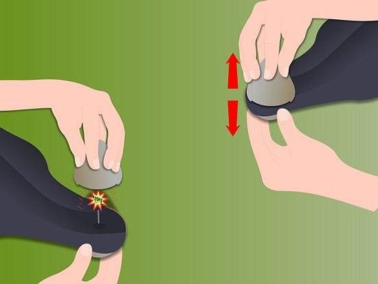 как размагнитить магнит на одежде
