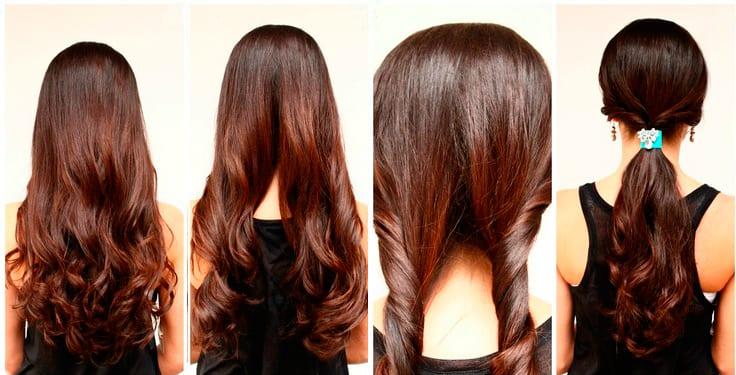 Картинки прически на длинные волосы для девочек - 9e