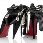 Обувь с красным низом