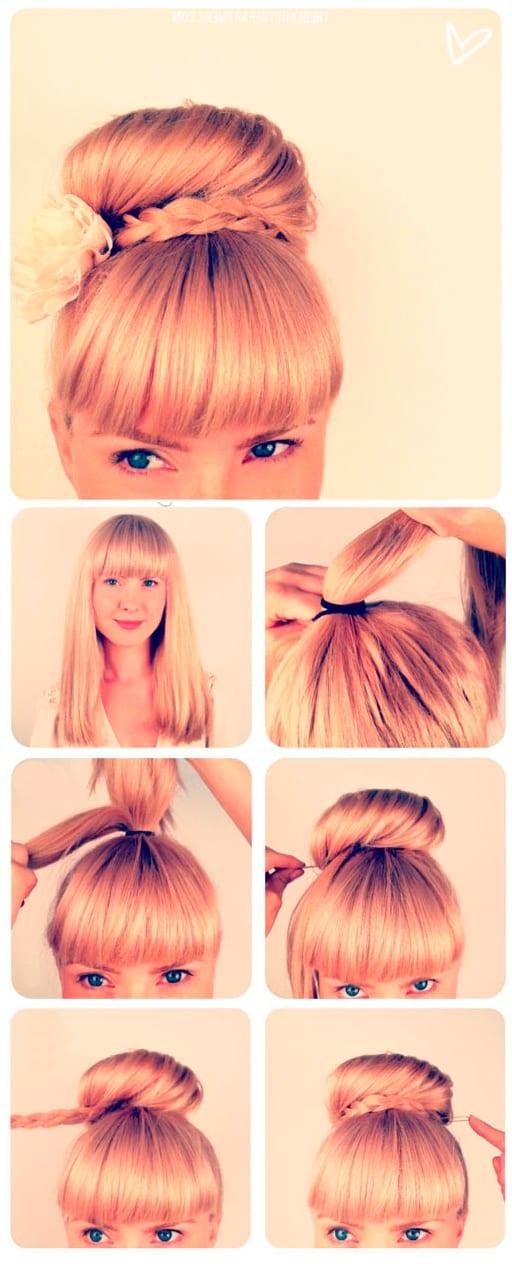 Быстрые причёски на каждый день. Фото №2