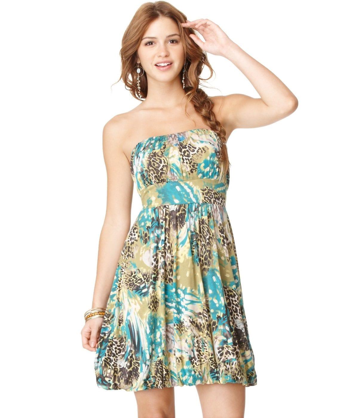 Платье балон для полных 12