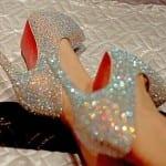 Свадебные туфли от Лабутена