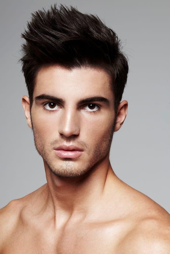 Прическа средний волосы для мужские фото