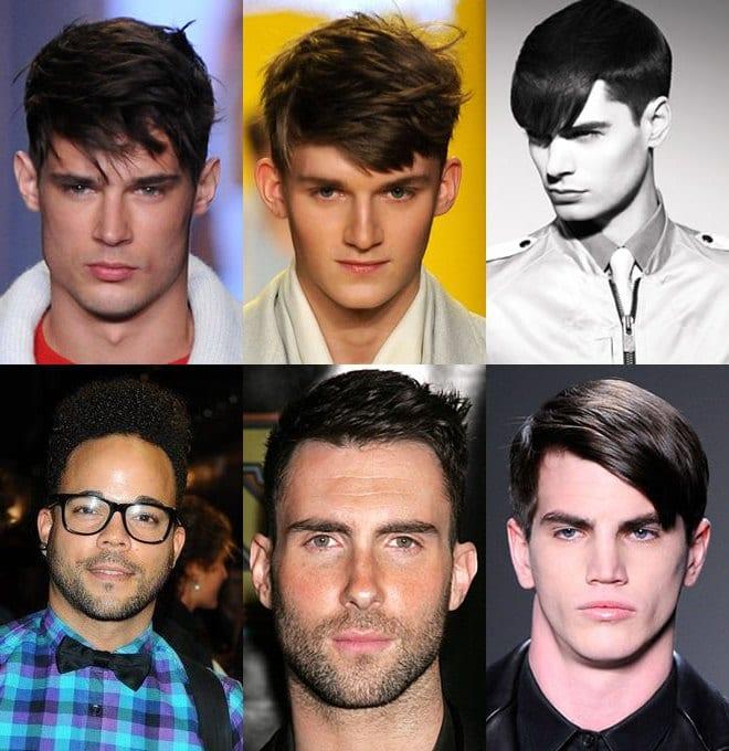 Прически для волос средней длины мужские