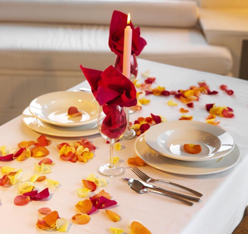 Как сделать уютный романтический ужин своими руками 39