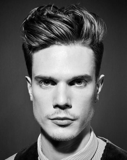 Средние волосы мужские