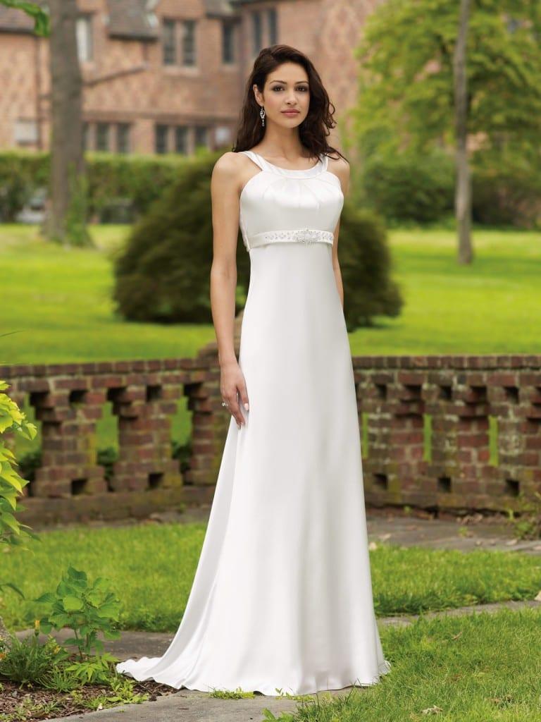 Белое платье невесты