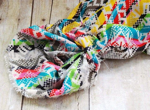 Как сшить шарф снуд своими руками