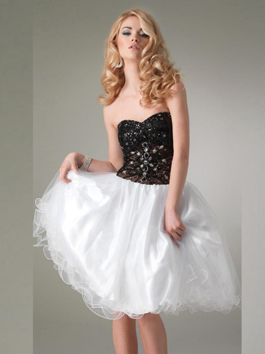 Платье с лифом-бюстье