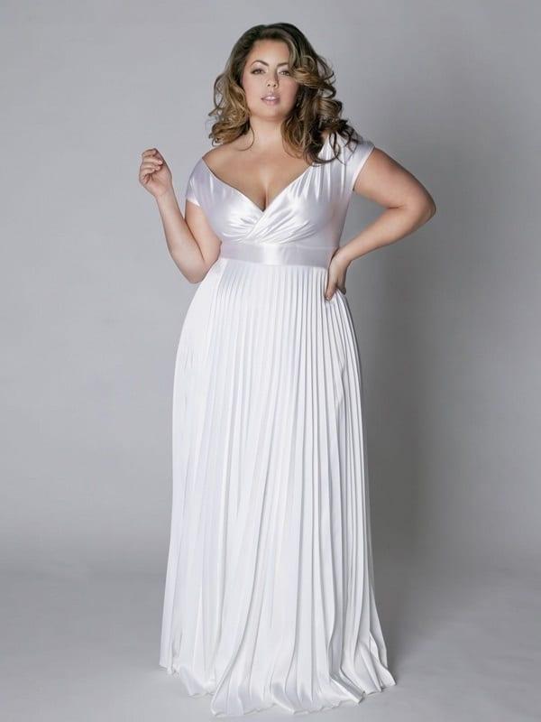 Свадебные платья для нестандартной фигуры