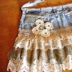 Девчачья юбка