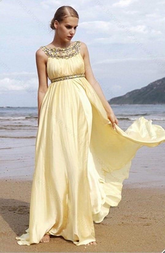 Длинное платье в греческом стиле своими руками