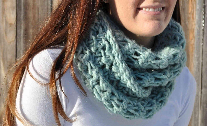 Вязание шарфов и восьмерок 969
