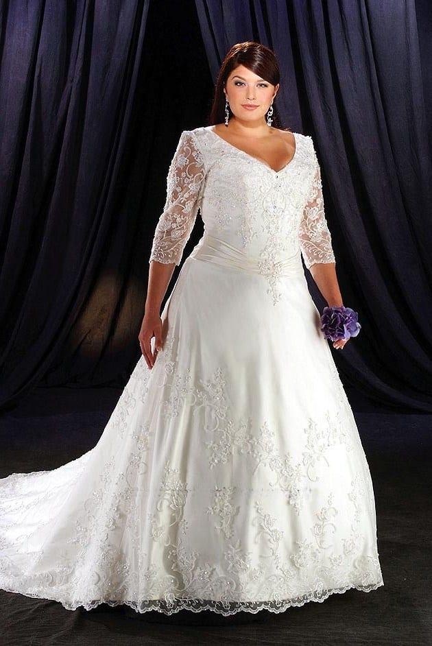 Венчальный наряд