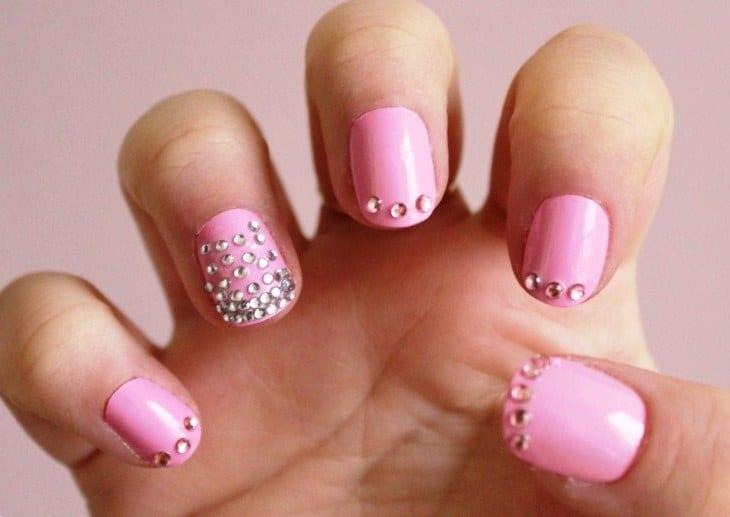 Сложный дизайн на ногтях