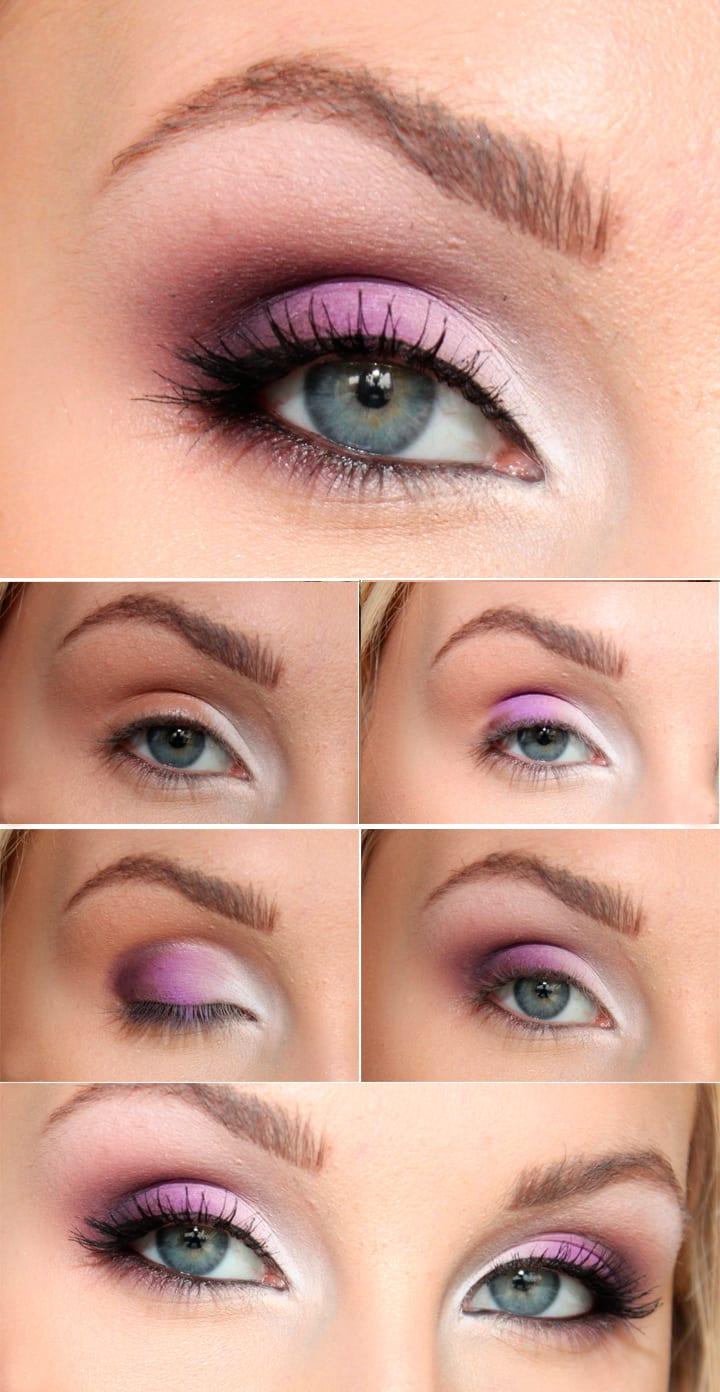 Как сделать макияж для серо голубых глаз 651