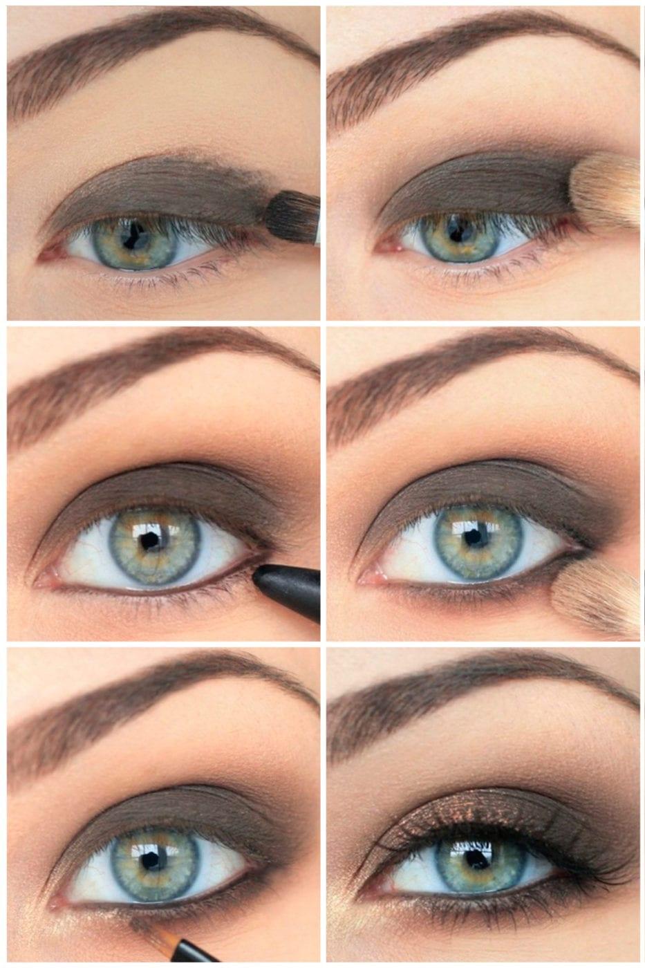 Как сделать макияж для серо голубых глаз 393