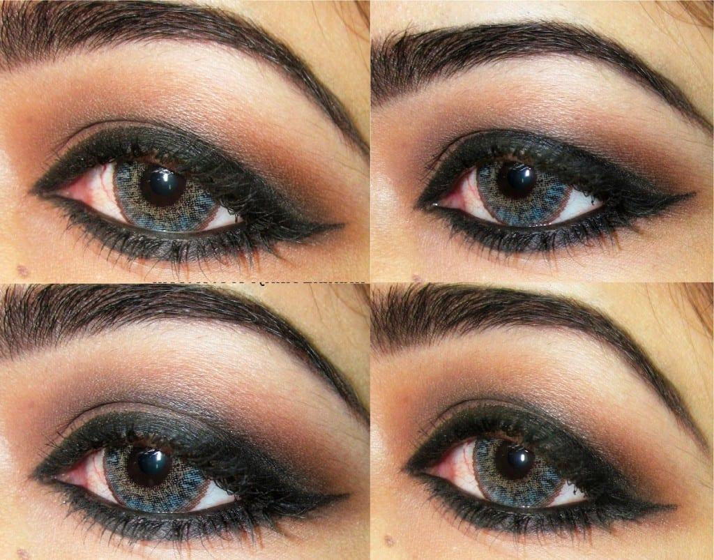Красивый макияж для серых глаз фото