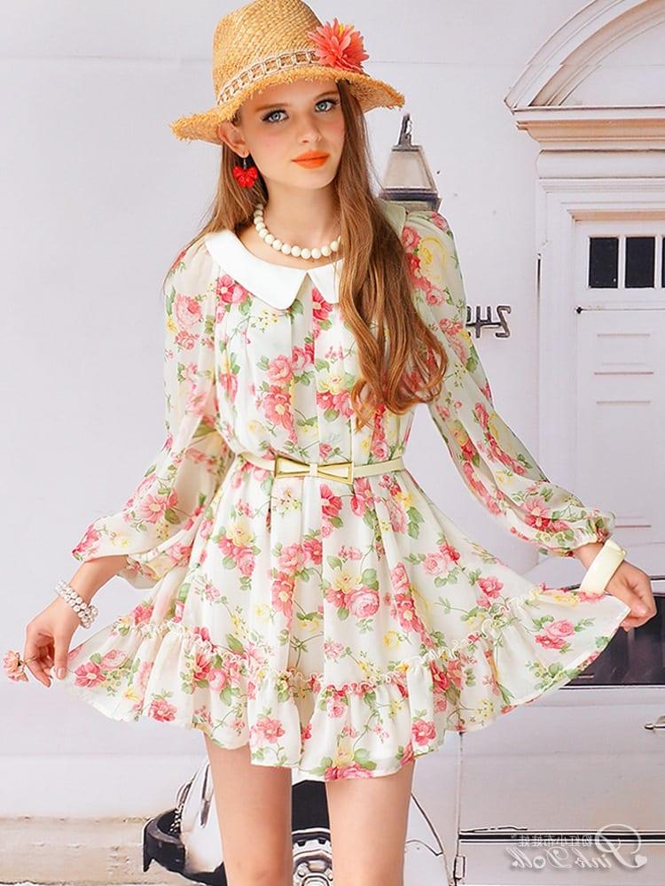 Легкие летние платья из шифона