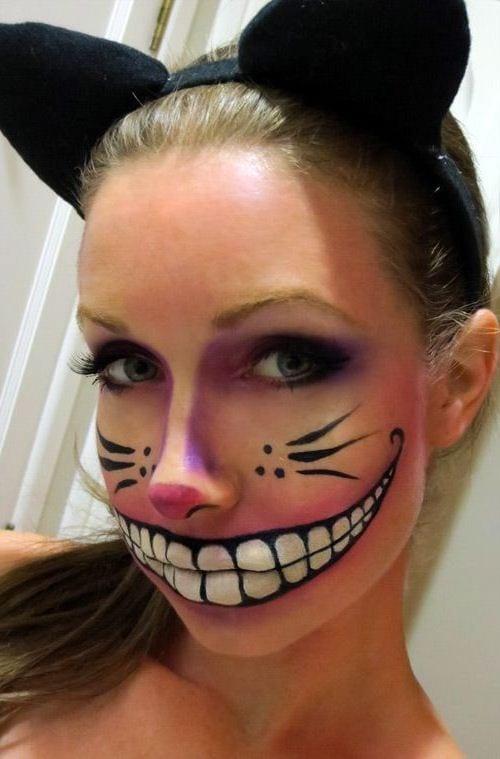 Макияж на хэллоуин своими руками фото