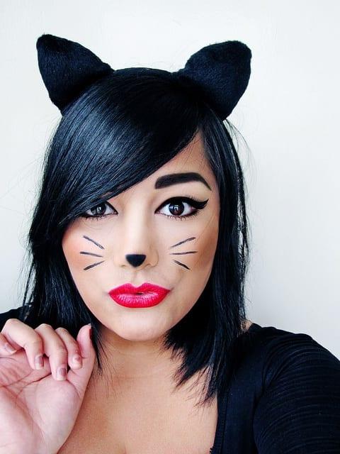 Maquillage pour halloween - Maquillage halloween araignee ...