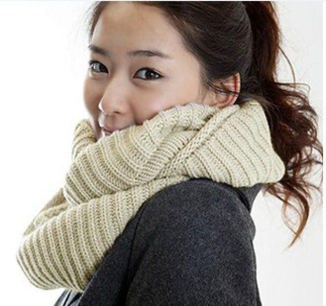 Связать шарф снуд своими руками спицами
