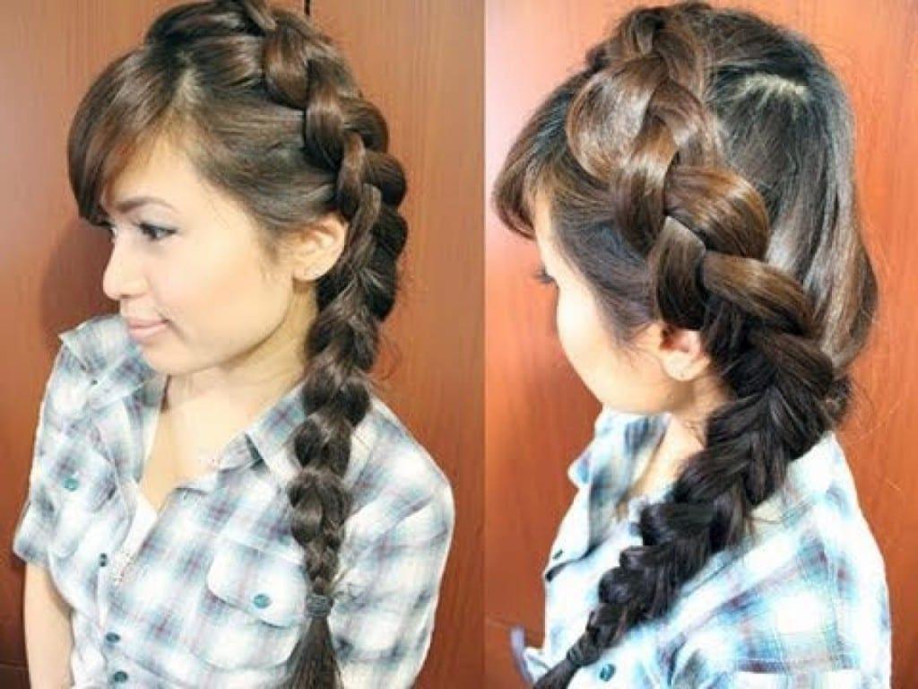 Прически с косам
