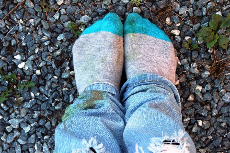 Как удалить пятна от травы с джинсы фото