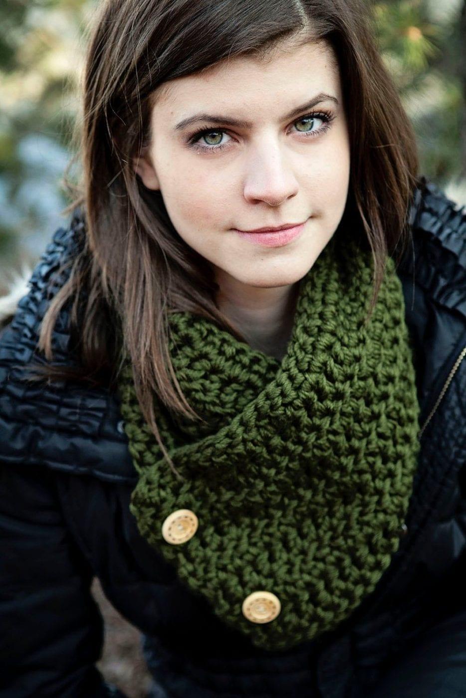 шарфы на голову зима