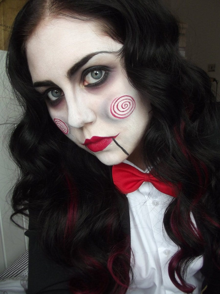 Гримы на хэллоуин своими руками