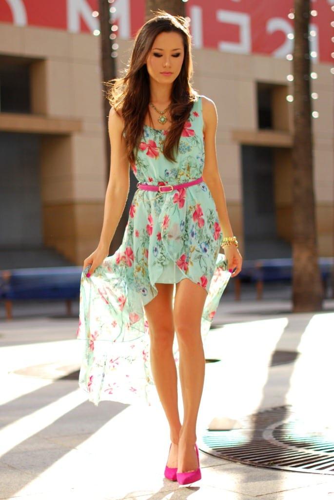 Цветы на одежде