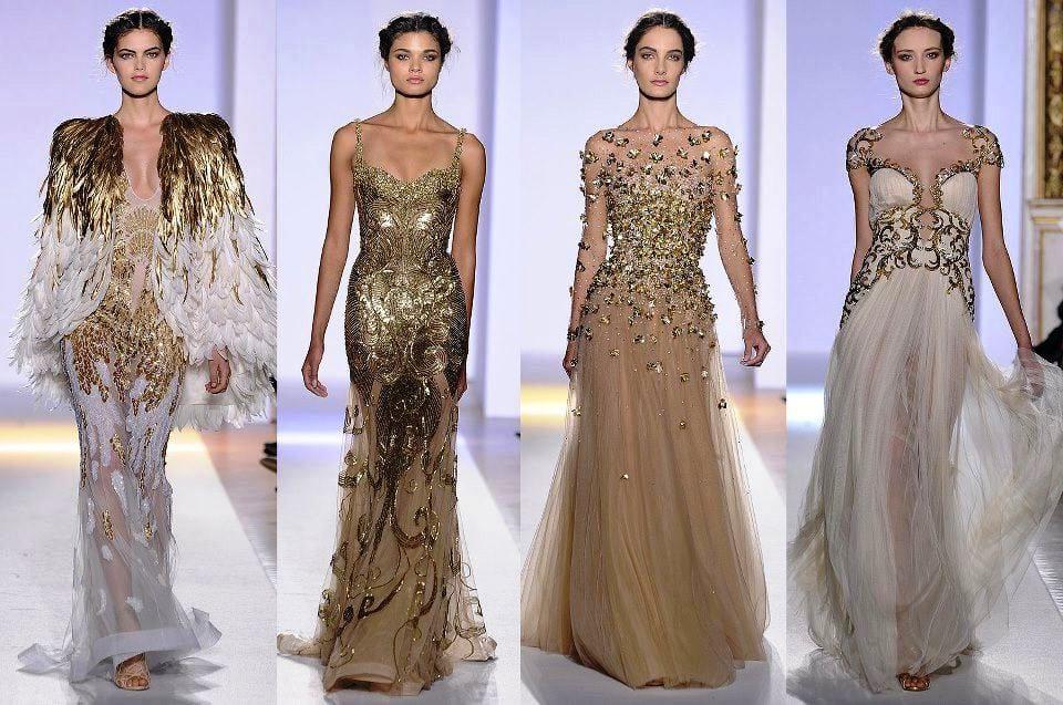 Вечерние платья в арабском стиле