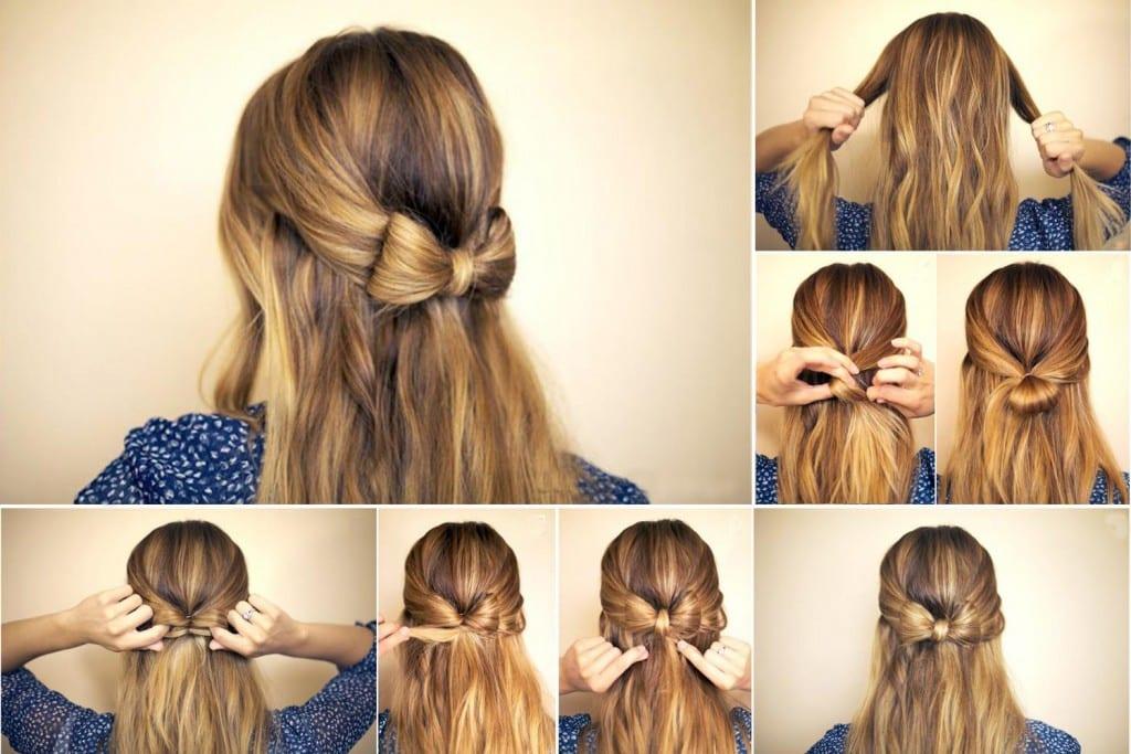 Как красиво сделать волосы